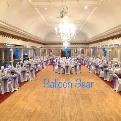Banquet Room Wedding Balloons